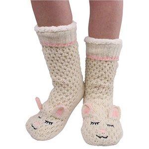 Jane and bleecker sheep slipper socks